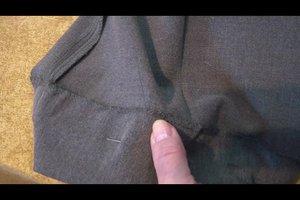 Eine Hose kürzen - Anleitung fürs Nähen mit der Hand