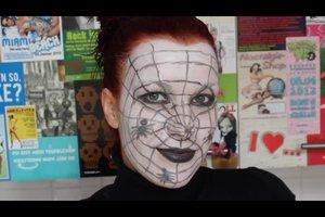 Schminktipps - als Spinne schminkt man sich so