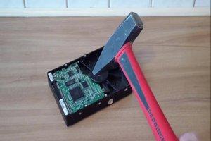 Festplatte zerstören - so geht's vor der Computerentsorgung