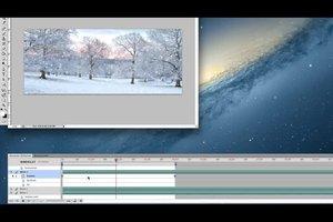 Animierte GIFs mit Schnee erstellen - so geht's