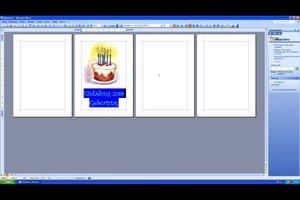 Einladungskarte mit MS Office erstellen