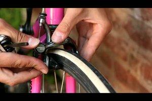 Fahrradbremse einstellen - Anleitung