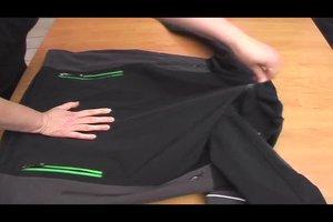Softshell Jacke waschen - so geht's