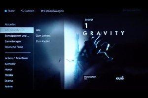 PS3: Filme ausleihen im PlayStation Store - so geht's