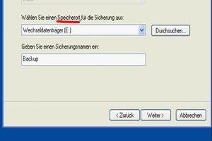 Systemabbild von Windows XP Festplatte erstellen - so geht's