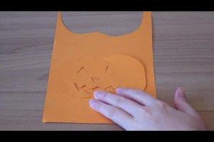 Kreativ basteln mit Kindern für Halloween