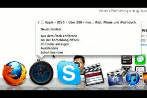 Apple Taskmanager starten und anwenden - so geht´s