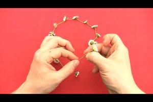 Blumenkranz aus Gänseblümchen binden