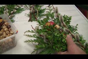 Palmstecken basteln - so geht's