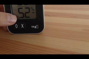 Die ideale Luftfeuchtigkeit in Räumen erkennen - so geht's
