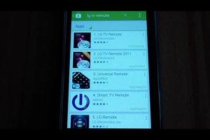 LG TV Remote - so wird Ihr Android-Smartphone zur Fernbedienung