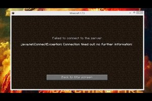 "Minecraft: ""Connection timed out"" - was tun?"