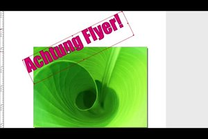 Flyer erstellen - kostenlos mit Freeware