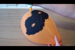 Halloween-Masken basteln - Anleitung