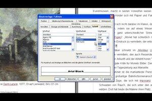 Bei OpenOffice Fußnoten nachträglich verändern - so geht's