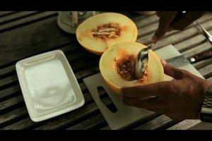 Melone grillen - ein Rezept
