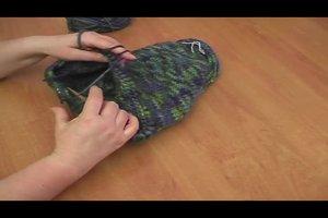 Filzwolle stricken nach Anleitung - so gelingt eine Tasche