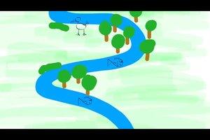 Flussbegradigung - Vorteile und Nachteile wägen Sie so ab