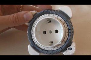 Mechanische Zeitschaltuhr einstellen - so funktioniert's