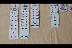 Patience Kartenspiel Anleitung