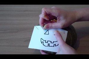 Halloween-Deko selber basteln - eine kreative Idee
