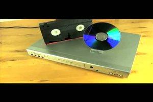 VHS auf DVD brennen - so gelingt es