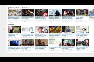 YouTube-Empfehlungen löschen - so geht's