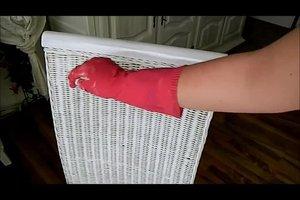 Rattan streichen - so streichen Sie Stühle, Betten und Co.