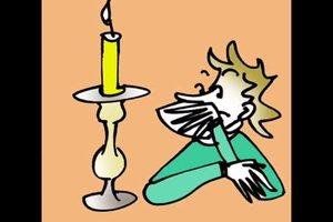 Kerzenständer selbstgemacht - so geht's
