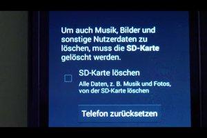 Android Handy Neu Installieren