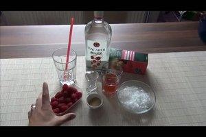 Bacardi Razz mischen - ein leckeres Rezept für einen Cocktail