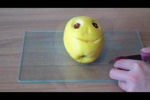 Obst schnitzen - eine Anleitung für lustige Fruchtgesichter