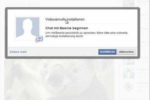 Videochat auf Facebook installieren - so geht's