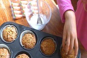 Karottenmuffins - ein Rezept