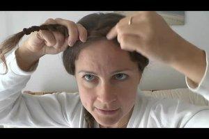Flechtfrisuren mit Anleitung - Ideen für Haarkränze