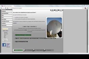 Wie richte ich eine Satellitenschüssel aus? - So wird's gemacht