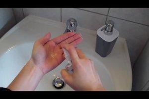 Richtiges Händewaschen - Anleitung