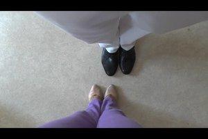 Hochzeitswalzer - so geht der Grundschritt